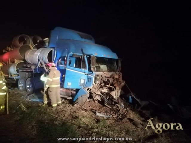 Fallece conductor en accidente en la autopista